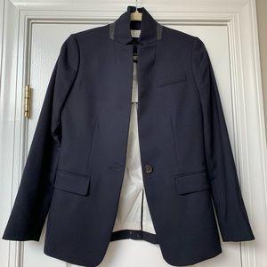 Regent blazer in wool flannel